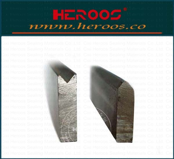 Chamfering metallic Strip