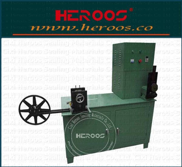 Metal strip shaping machine